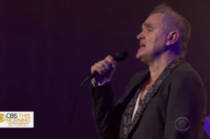Watch Morrissey Perform Three Songs On <em>CBS This Morning</em>
