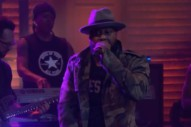 Watch Talib Kweli Play <em>Conan</em> With Anderson .Paak &#038; Kaytranada