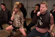 Watch James Corden Get Into Hijinks With Taylor Swift, Ed Sheeran, Sam Smith