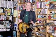Watch Ted Leo's Solo-Electric Tiny Desk Concert