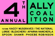 Lorde, Bleachers, The National, Spoon To Play Ally Coalition Talent Show In NYC