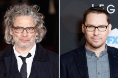 Dexter Fletcher and Bryan Singer