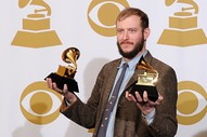"Justin Vernon On Bruno Mars' Grammy Win: ""You Absolutely Have To Be Shitting Me"""
