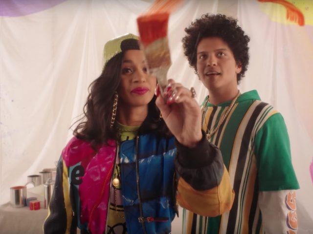 Resultado de imagen para Bruno Mars ft. Cardi B - Finesse Remix single cover