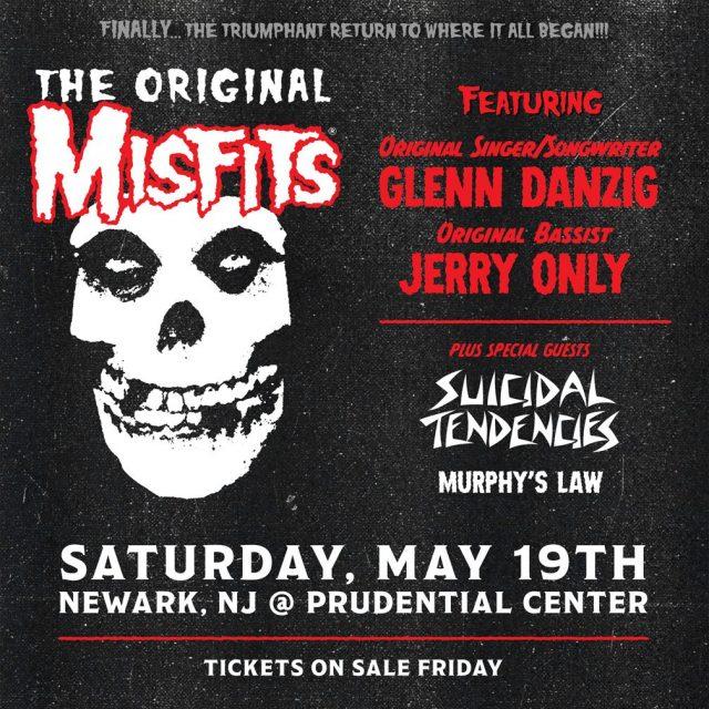 The Original Misfits Announce New Jersey Reunion Show