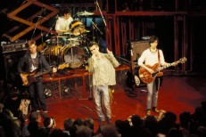 Photo of Mike JOYCE and SMITHS and MORRISSEY and Andy ROURKE and Johnny MARR