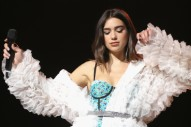 Dua Lipa Lands Top 10 Hit, Will Play <em>SNL</em> Next Week