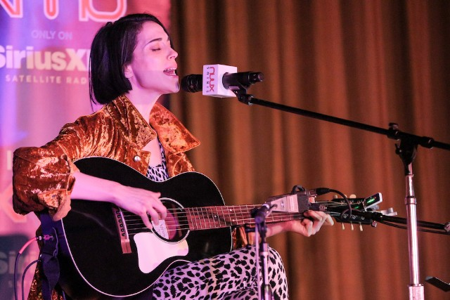St. Vincent Performs For SiriusXM At The Village Studio in Los Angeles