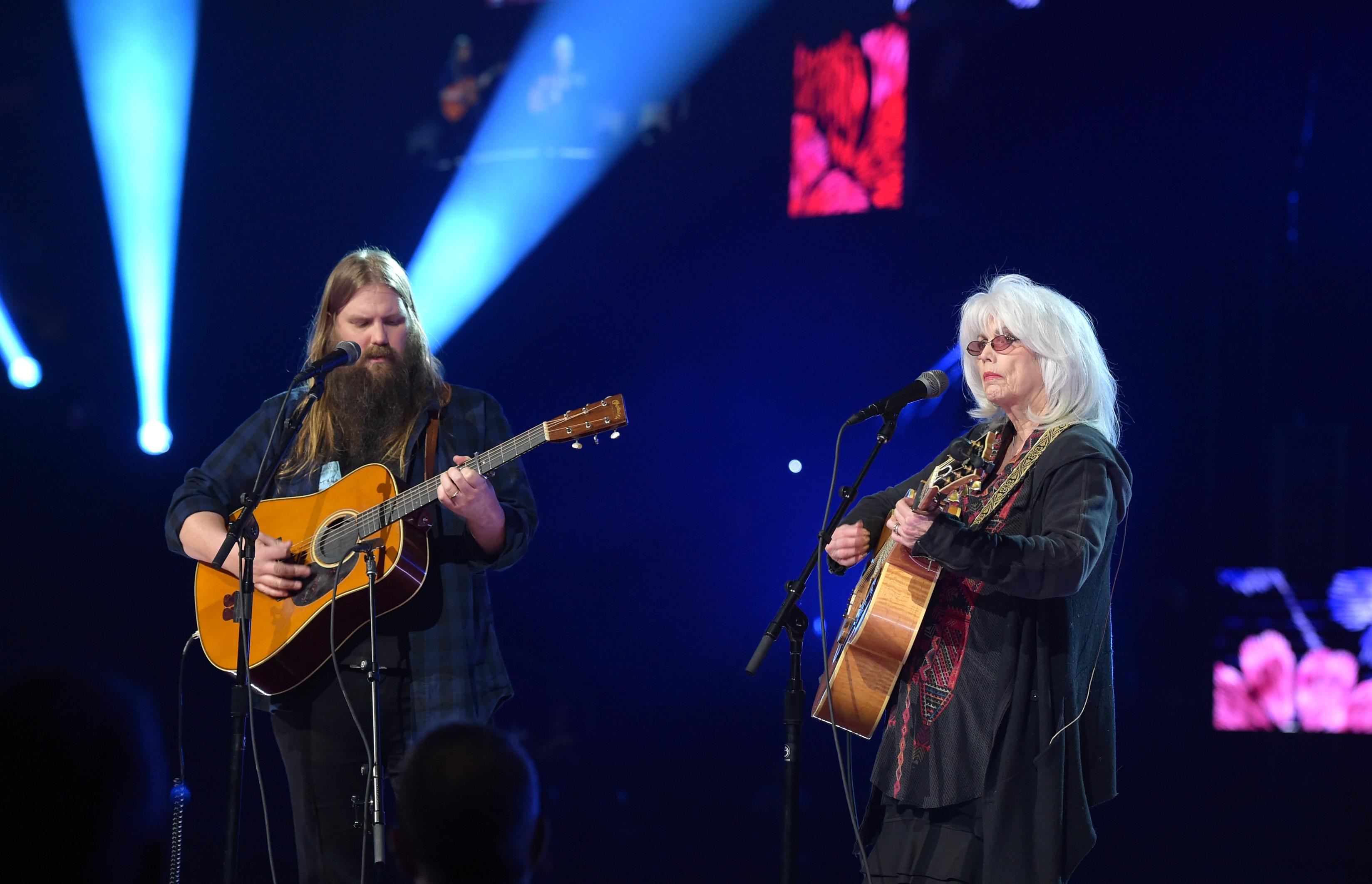 Grammys 2018: Watch Chris Stapleton & Emmylou Harris Cover Tom Petty