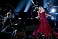 """Grammys 2018: Watch Miley Cyrus & Elton John Perform """"Tiny Dancer"""""""