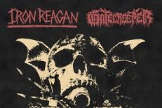 Iron Reagan Gatecreeper split