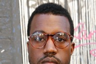 "Kanye West Says That You Should Only Wear ""Tiny Little Glasses"" Now"