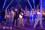 Watch N.E.R.D.&#8217;s Dance-Happy <em>Ellen</em> Performance