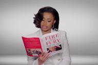 Watch Cardi B, Hillary Clinton, &#038; DJ Khaled Recite <em>Fire And Fury</em> At The Grammys