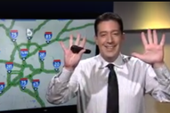 Watch A TV Newscaster & Traffic Reporter Pay Tribute To Rakim On His 50th Birthday