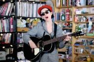 Watch St. Vincent's Lovely Acoustic Tiny Desk Concert