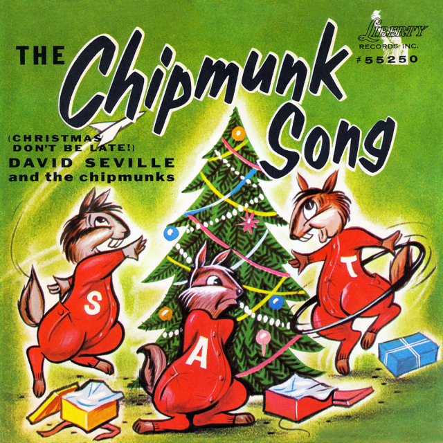 The Chipmunks - The Chipmunk Song