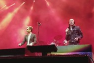 """Watch The Killers Cover """"Runnin' Outta Luck"""" With Alex Cameron"""