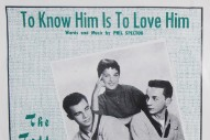 "The Number Ones: The Teddy Bears' ""To Know Him Is To Love Him"""