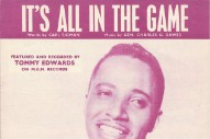 "The Number Ones: Tommy Edwards' ""It's All In The Game"""