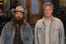 Chris Stapleton & Will Ferrell