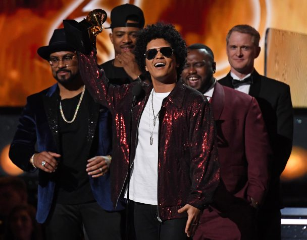 Bruno Mars Wins Album of the Year