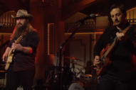 Watch Chris Stapleton &#038; Sturgill Simpson Play <em>SNL</em> Together