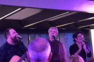 Watch David Byrne Lead Public Choir In Bowie & Madonna Covers In NYC