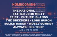 The National Line Up Father John Misty, Breeders, Julien Baker, & More For Homecoming Festival