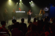 Watch Sylvan Esso Perform &#8220;PARAD(w/m)E&#8221; With Amber Coffman &#038; Jenn Wasner On <em>Kimmel</em>