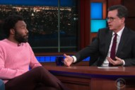 Watch Donald Glover's Charmingly Evasive Interview With Stephen Colbert