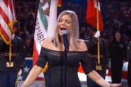 "Fergie On Her National Anthem: ""I Love My Country And Honestly Tried My Best"""