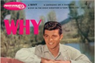 """The Number Ones: Frankie Avalon's """"Why"""""""