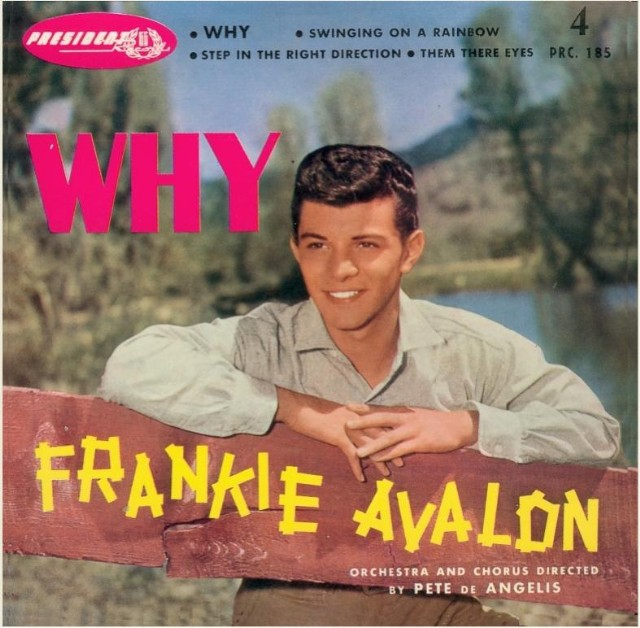 Image result for why frankie avalon single images