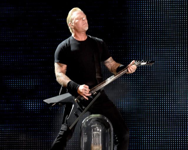 Metallica Performs At The Rose Bowl