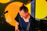 Thom Yorke Playing As Part Of Immersive 360° Audiovisual Exhibition In Berlin