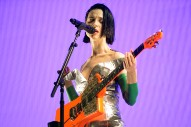 "Watch St. Vincent's Backstage Cover Of Pearl Jam's ""Tremor Christ"""