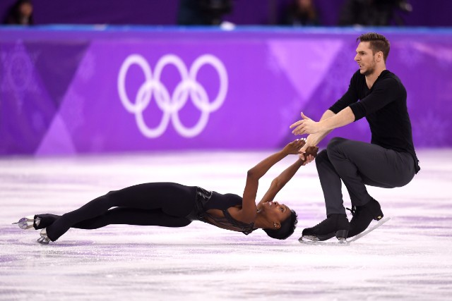 French Olympians Figure Skate To Disturbed