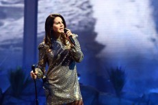 Lana Del Rey In Concert At Mandalay Bay In Las Vegas