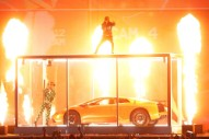 Watch Kendrick Lamar Smash A Lamborghini In Surprise BRITs Performance With Rich The Kid