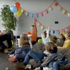 A Bunch Of Cute Kids Grill Liam Gallagher