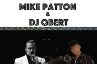 Watch Mike Patton & DJ QBert Play A Collaborative Show In San Francisco