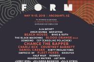 FORM Arcosanti 2018 Lineup