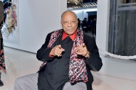 Quincy Jones Apologizes For Being Awesome At Interviews