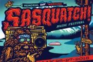 Sasquatch! 2018 Lineup