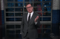 Stephen Colbert Jokes About Those Quincy Jones Interviews