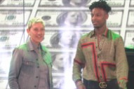 Behold The Absurd Spectacle Of 21 Savage On <em>Ellen</em>
