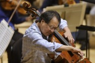 Yo-Yo Ma Performs For California Siblings Held Captive
