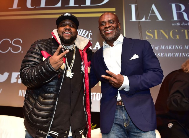 Big Boi and L.A. Reid