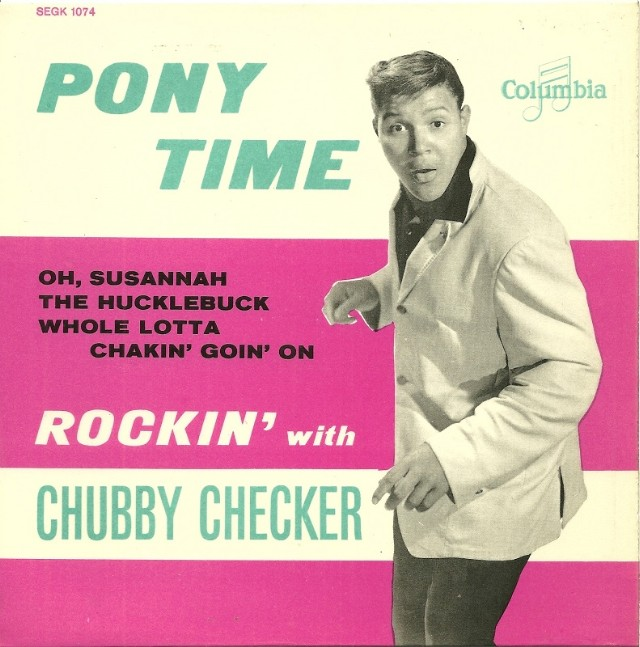 Image result for pony time chubby checker single images